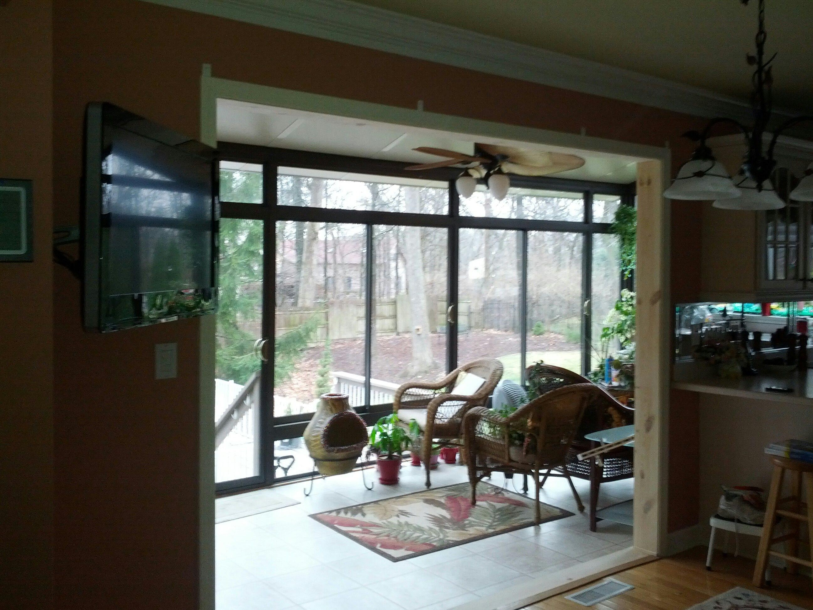 Hoopes Sliding Glass Door Removal After